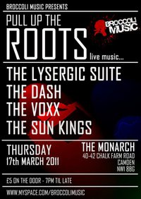 Pull Up The Roots-The Lysergic Suite + The Dash + The Voxx + The Sun Kings