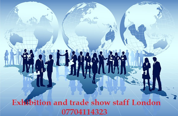 Exhibition staff London, trade show staff London. Olympia, Excel and other London venues