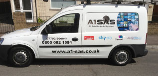 Urgent TV Aerial Repairs in Canterbury UK – A1 Satellite Aerial Systems