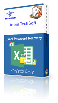 Unlock Excel by Atom TechSoft Excel Password Recovery tool to Recover password of Excel