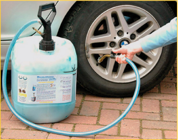 Puncture Safe – The Permanent Tyre Sealant in Guildford