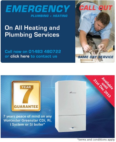 Need Local Plumbers in Guildford? Call RJ Plumbing & Heating Today!