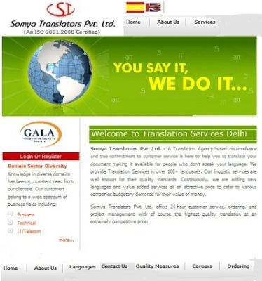 Japanese Language Translation Provider  Company