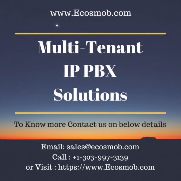 Multi-tenant IP PBX Solutions for Industry Verticles