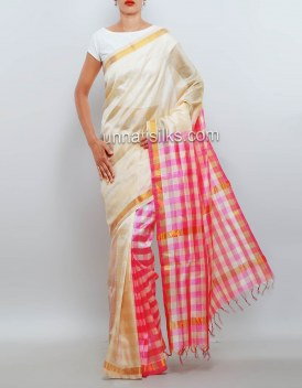 Online shopping for grand party assam silk by cotton saris by unnatisilks