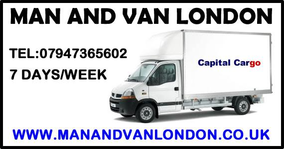 Man and Van Hire London - Removals Courier services