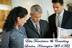 Russian translator business and media. Central London, Mayfair, Kensington, Westminster, City