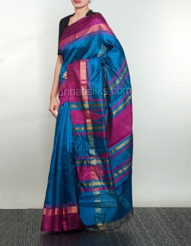 Online shopping for pure dupion ghicha silk sarees by unnatisilks