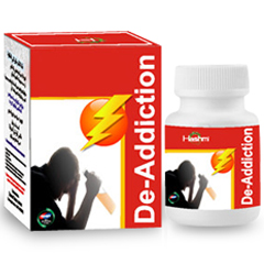 De-Addiction is a anti addiction capsule having main motive to cure addiction of drugs and alcohol i