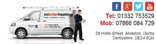 New Boiler & Heating System Installation in Derbyshire - M Broer Heating