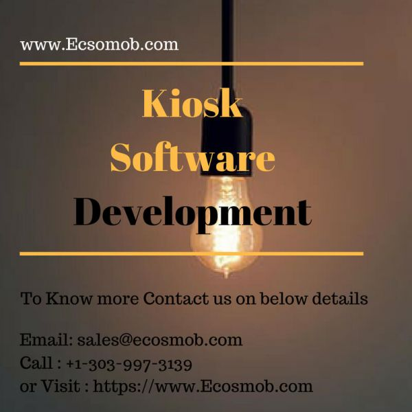 Kiosk Software Development : The Exact Needs of your Business