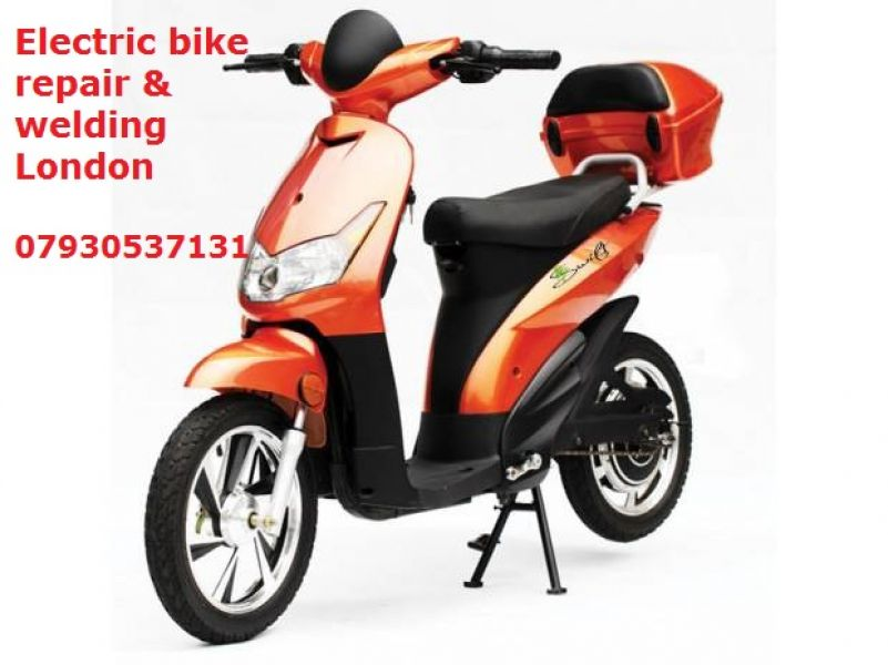 Electric bikes, scooters, electric transport repair & welding on your site. London