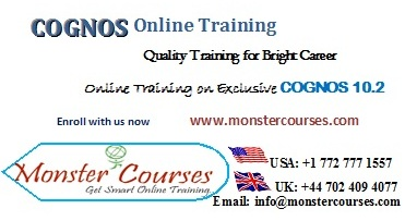 IBM Cognos Online Training by leading experts, with Placements