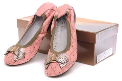 Gucci Ali Original GG Sheep Skin Ballerina Pink Wholesale with free shipping and paypal payment