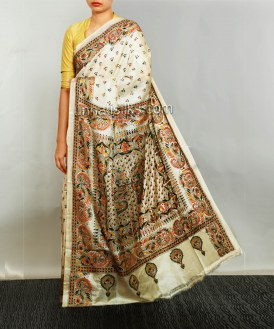 Online shopping for pure handloom pashmina saris by unnatisilks