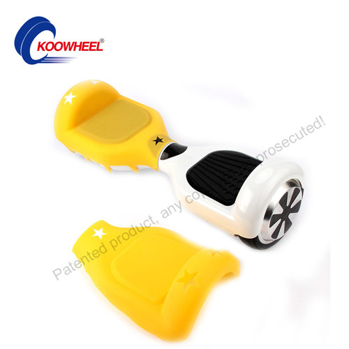 Hoverboard Silicone Case Soft Protective Cover for 6.5' Scooter