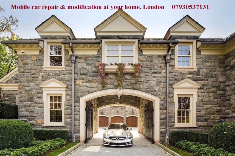 Mobile car body repair at your home. East London, Central London, North London