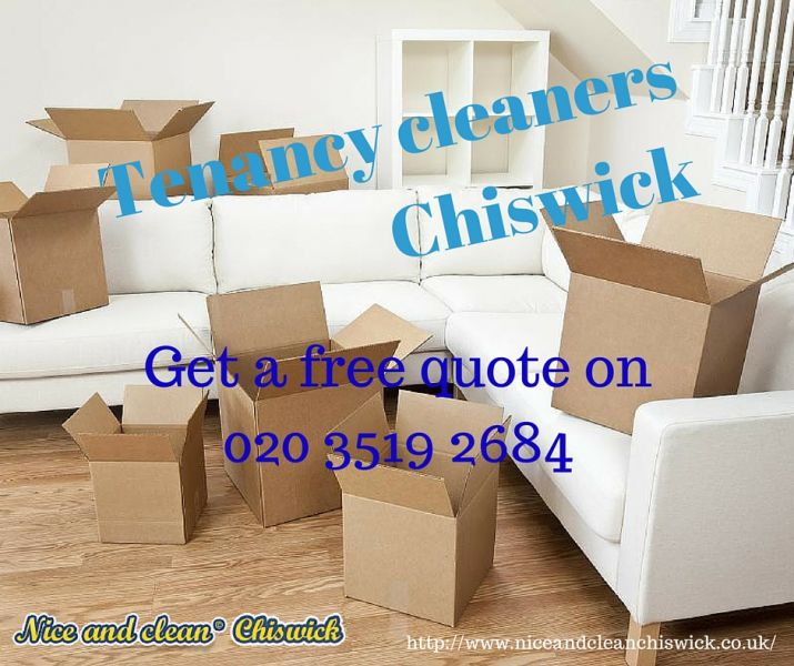 Tenancy cleaning Chiswick