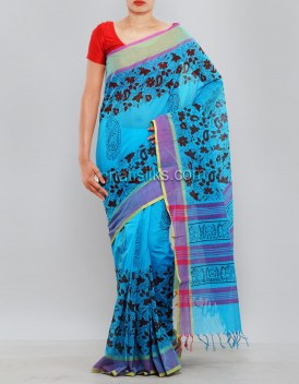 Online shopping for pure kanchi cotton saris by unnatisilks