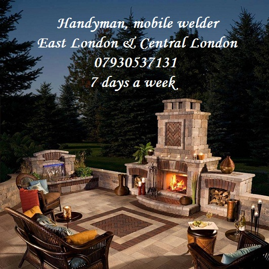 Handyman, mobile welder. Islington,  Shoreditch, Hackney, Dalston, Clapton, Central, East  London
