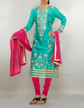 Online shopping for party colorful salwar kameez by unnatisilks