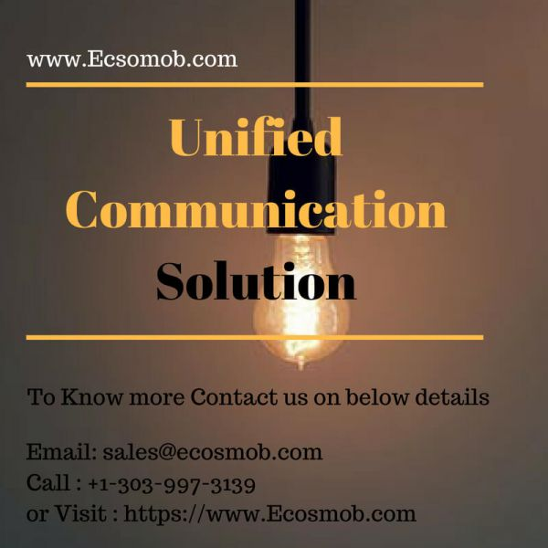Ecosmob's Unified Communication : Empower your Businesses