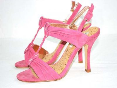 large quantity nice sandals & boots are available