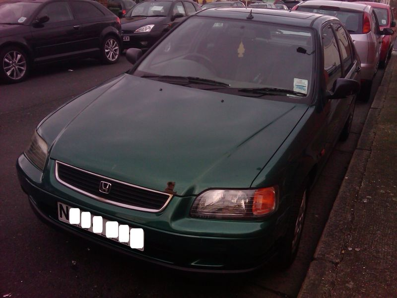 HONDA Civic 1.6L Manual Petrol, N Reg, for Repair and Spares