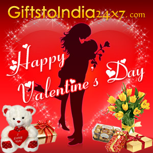 Celebrate Valentine's Day by Sending Gifts