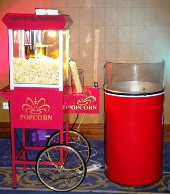 Fun food machine hire