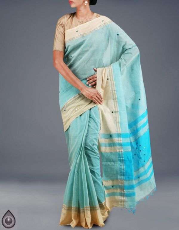 Online shopping for pure mangalagiri cotton sarees collection by unnatisilks