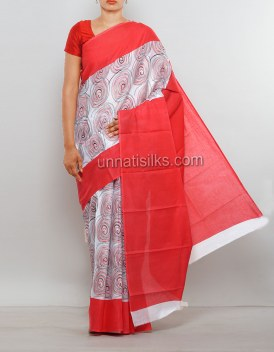 Online shopping for malmal soft cotton saris by unnatisilks