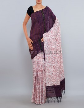 Online shopping for pure handloom khadi cotton saris by unnatisilks