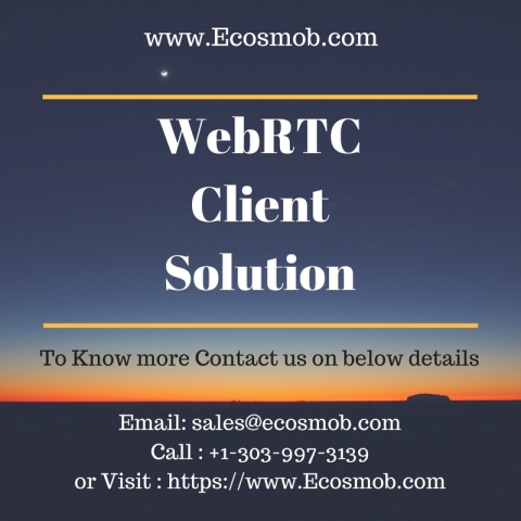 WebRTC Client : Web based Calling, Communication Solution