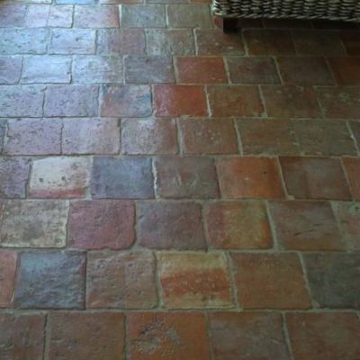 Brick Floor Tile inglenook brick tile kitchen floor Old Brick Floor Brick Tiles Brick Flooring Old Terracotta Tile Old