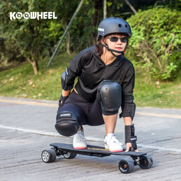 Koowheel 2nd Generation Electric Skateboard Kooboard with replaceable wheels