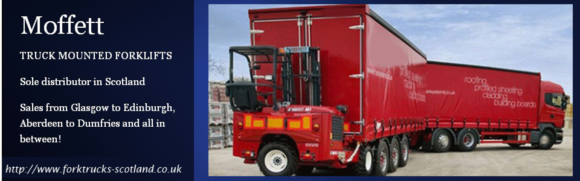 Moffett Mounty - Forklifts Glasgow and Access Platforms Aberdeen