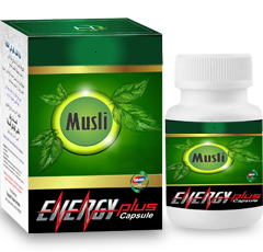 Musli energy plus capsules is used for the treatment of low sperm count, male infertility, erectile