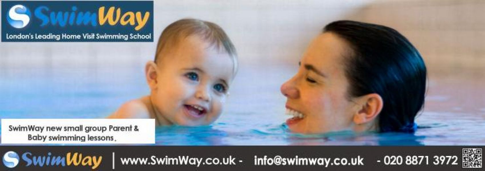NEW SwimWay Swimming Lessons in Tooting Bec (Balham side)