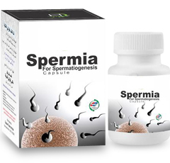 Spermia is for those who are having indications of Azoospermia (absence of sperm cells in       seme