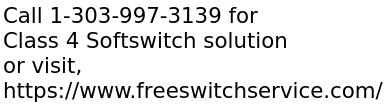 Class 4 Softswitch solution development in FreeSWITCH