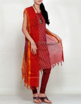 Online shopping for jaipuri cotton salwar kameez by unnatisilks