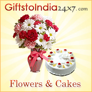 Send flowers and cakes to impress your dear ones
