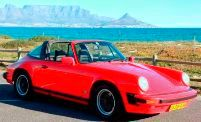 Adventure Classic Car Hire Cape Town.