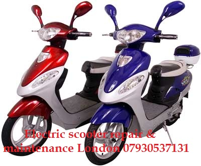 Electric scooter repair London. 07930537131 Electric scooter welding,  service, maintenance.