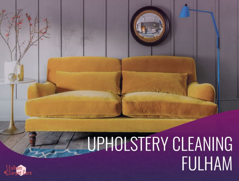 Comprehensive Upholstery Cleaning in Fulham