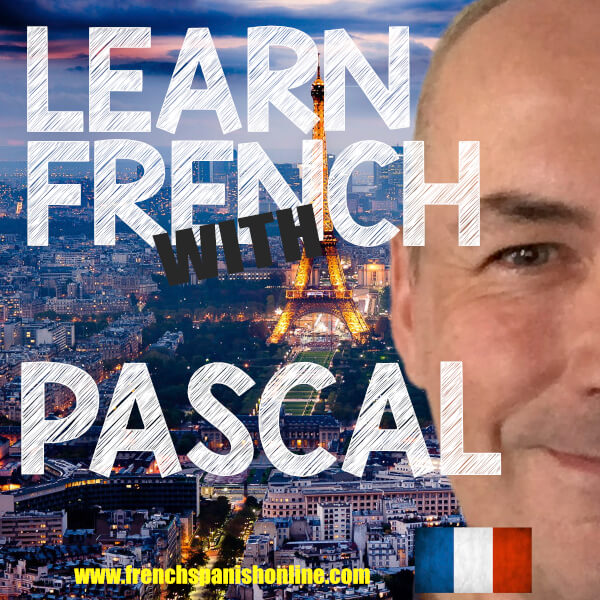 Learn French online with Pascal