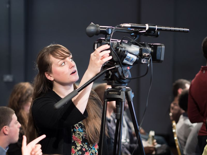 Become a volunteer – get free film training