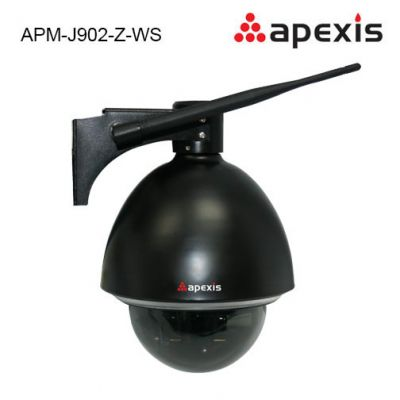Wireless outdoor surveillance ip camera APM-J902-Z-WS