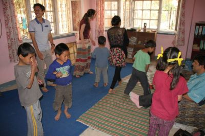Volunteer in a Nepali orphanage